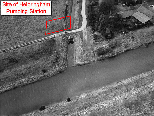 Helpringham Fen Aerial Photo