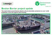 Boston Barrier Project Update - October 2019