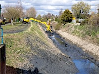 Essential watercourse maintenance continues throughout COVID-19 restrictions